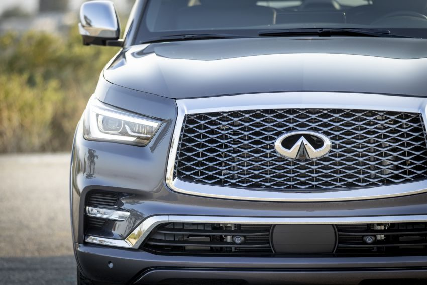 2022 Infiniti QX80 gains new 12.3-inch InTouch display, wireless device charger, Apple CarPlay, Android Auto Image #1334201