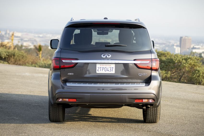 2022 Infiniti QX80 gains new 12.3-inch InTouch display, wireless device charger, Apple CarPlay, Android Auto Image #1334208
