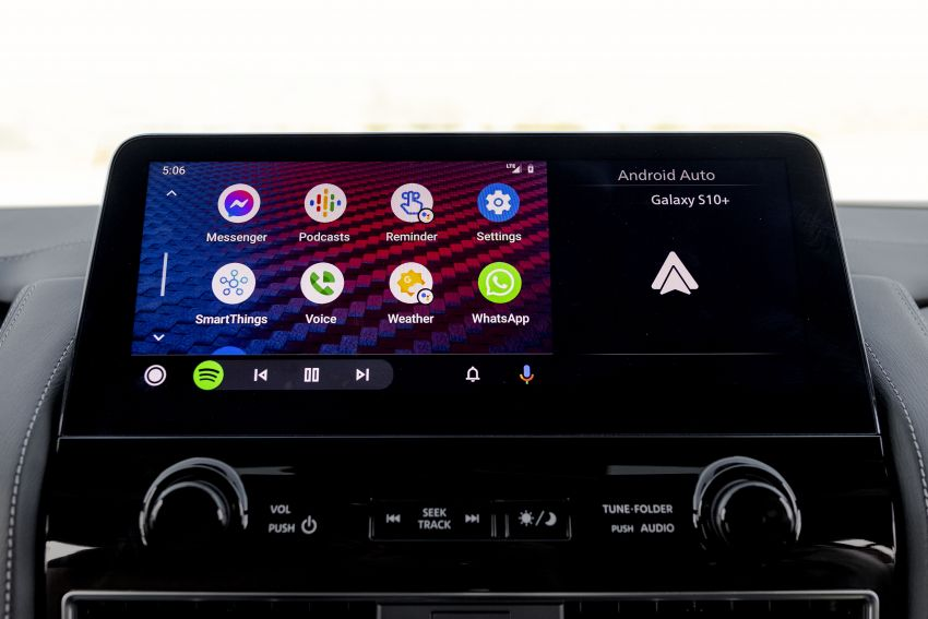 2022 Infiniti QX80 gains new 12.3-inch InTouch display, wireless device charger, Apple CarPlay, Android Auto Image #1334225
