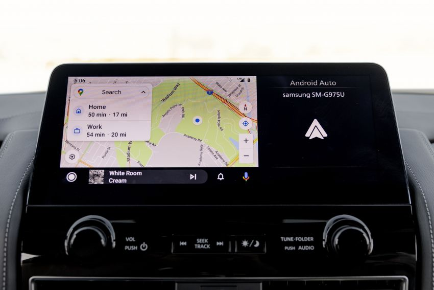 2022 Infiniti QX80 gains new 12.3-inch InTouch display, wireless device charger, Apple CarPlay, Android Auto Image #1334226