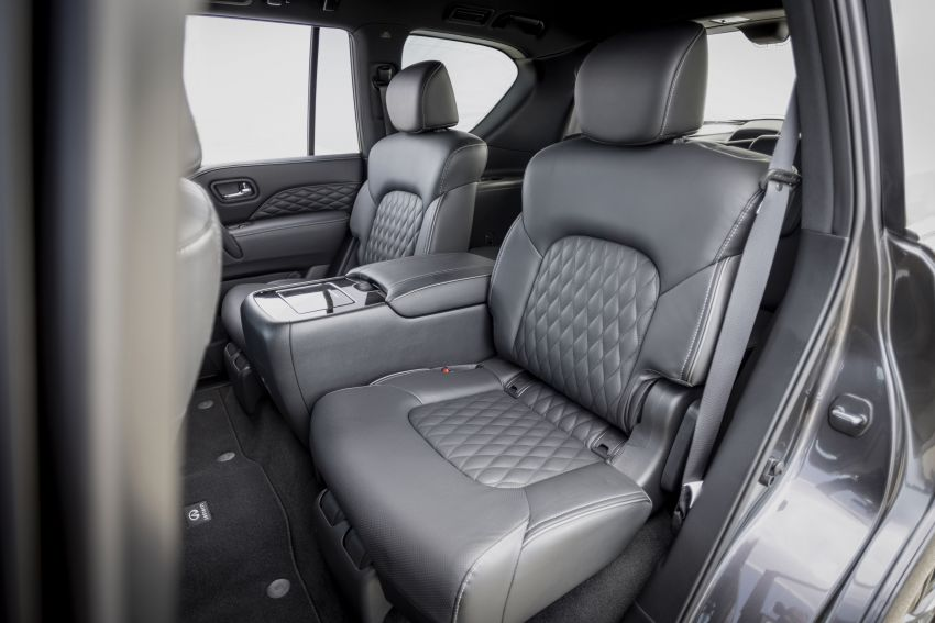 2022 Infiniti QX80 gains new 12.3-inch InTouch display, wireless device charger, Apple CarPlay, Android Auto Image #1334230