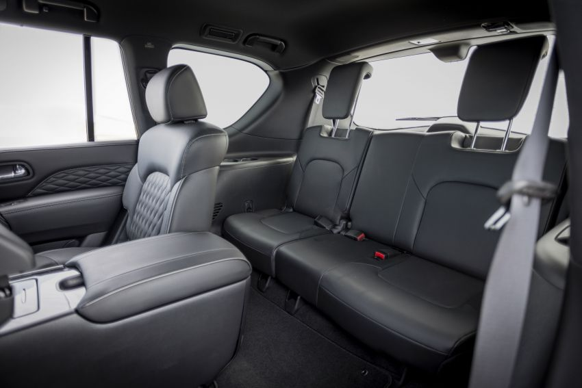 2022 Infiniti QX80 gains new 12.3-inch InTouch display, wireless device charger, Apple CarPlay, Android Auto Image #1334231
