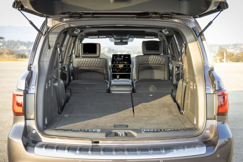 2022 Infiniti QX80 gains new 12.3-inch InTouch display, wireless device charger, Apple CarPlay, Android Auto Image #1334232
