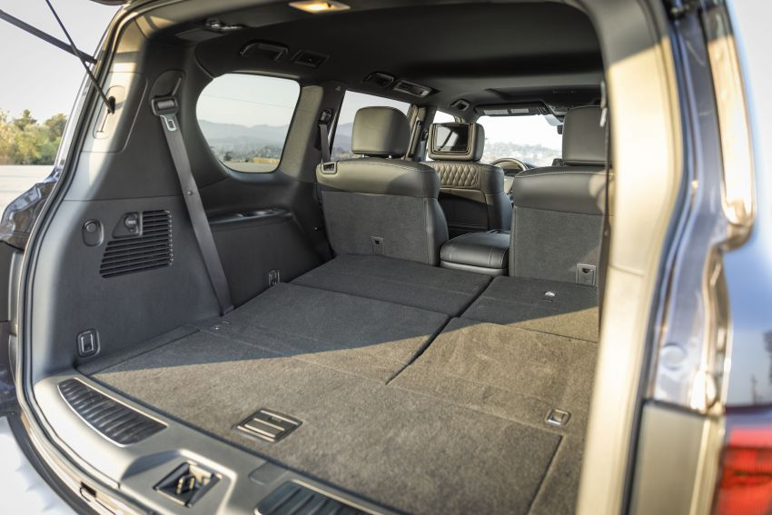 2022 Infiniti QX80 gains new 12.3-inch InTouch display, wireless device charger, Apple CarPlay, Android Auto Image #1334235