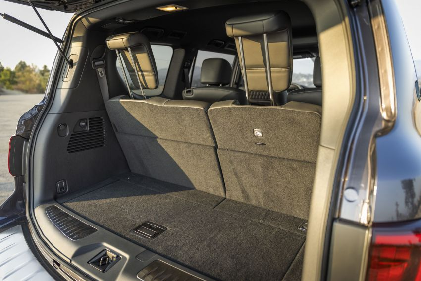 2022 Infiniti QX80 gains new 12.3-inch InTouch display, wireless device charger, Apple CarPlay, Android Auto Image #1334237