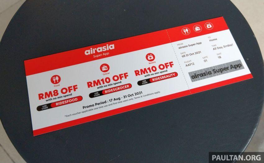 AirAsia Ride vs Grab di Malaysia — tanggapan awal untuk lihat platform mana lebih pantas dan jimat Image #1337333