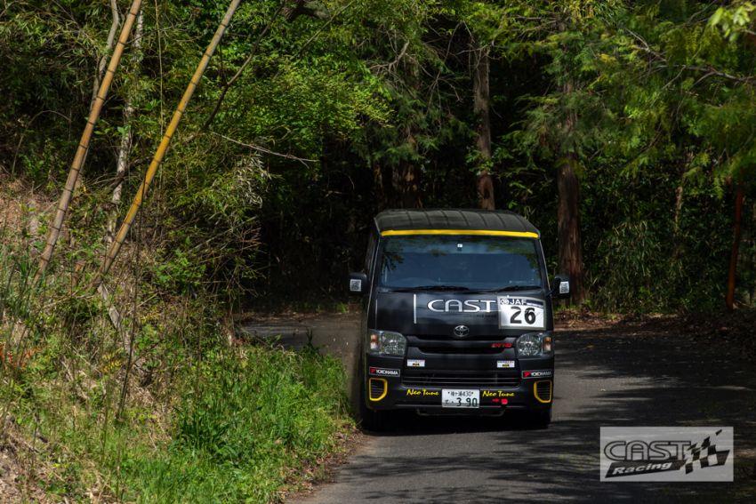 Toyota Hiace H200 Cast Racing – van rali sebenar bertanding dalam Kejuaraan Rali Seluruh Jepun! Image #1333400