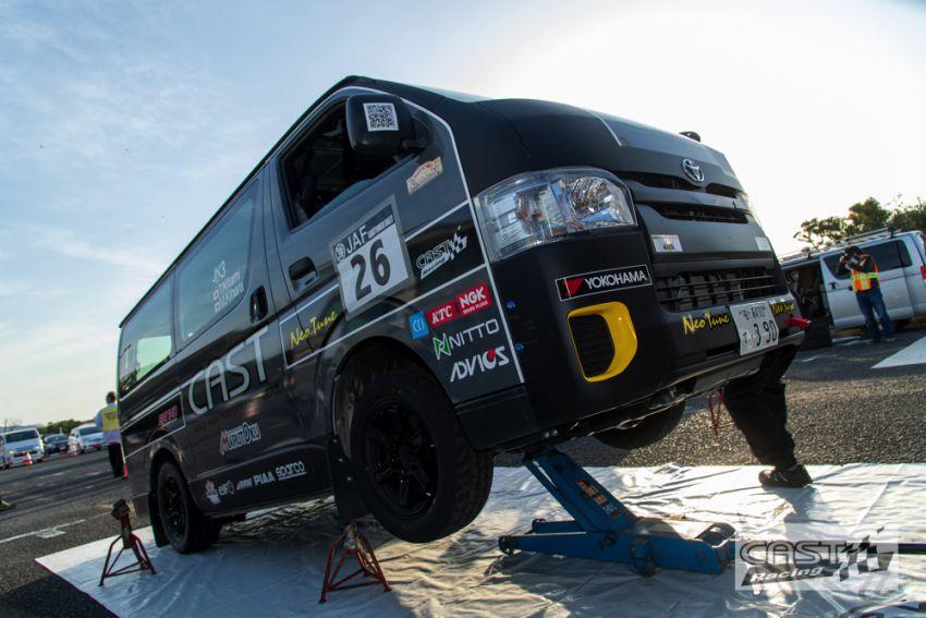 Toyota Hiace H200 Cast Racing – van rali sebenar bertanding dalam Kejuaraan Rali Seluruh Jepun! Image #1333402