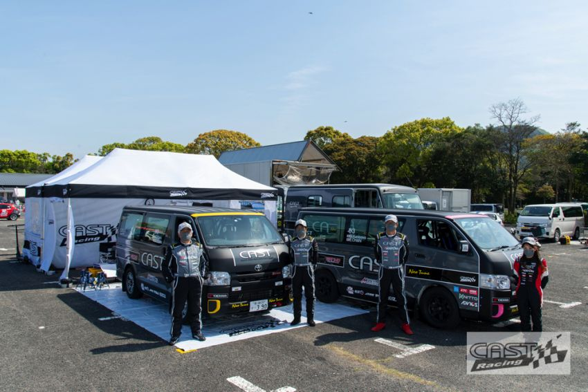 Toyota Hiace H200 Cast Racing – van rali sebenar bertanding dalam Kejuaraan Rali Seluruh Jepun! Image #1333405