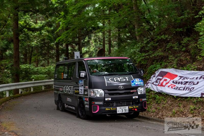 Toyota Hiace H200 Cast Racing – van rali sebenar bertanding dalam Kejuaraan Rali Seluruh Jepun! Image #1333409