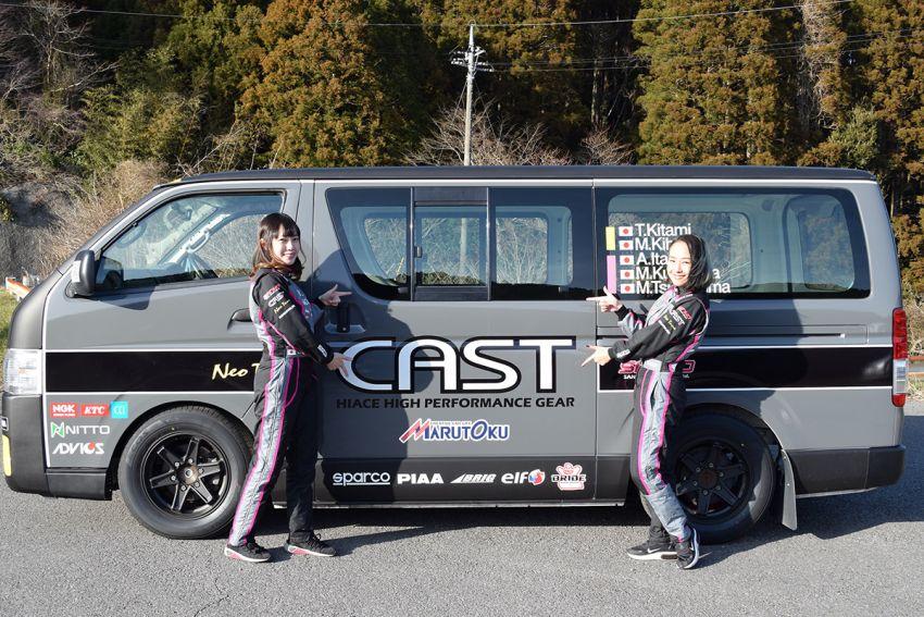 Toyota Hiace H200 Cast Racing – van rali sebenar bertanding dalam Kejuaraan Rali Seluruh Jepun! Image #1333382