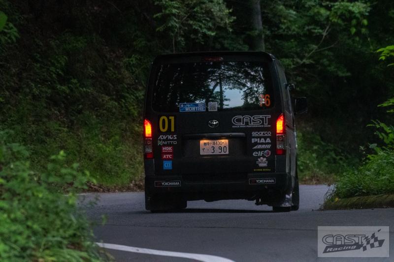 Toyota Hiace H200 Cast Racing – van rali sebenar bertanding dalam Kejuaraan Rali Seluruh Jepun! Image #1333420