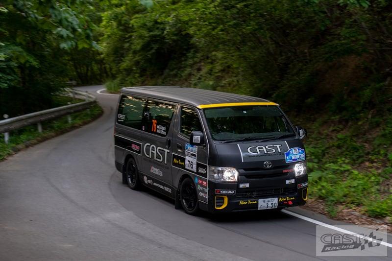 Toyota Hiace H200 Cast Racing – van rali sebenar bertanding dalam Kejuaraan Rali Seluruh Jepun! Image #1333421