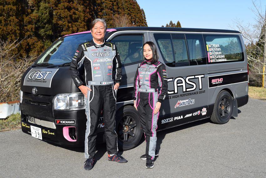 Toyota Hiace H200 Cast Racing – van rali sebenar bertanding dalam Kejuaraan Rali Seluruh Jepun! Image #1333383