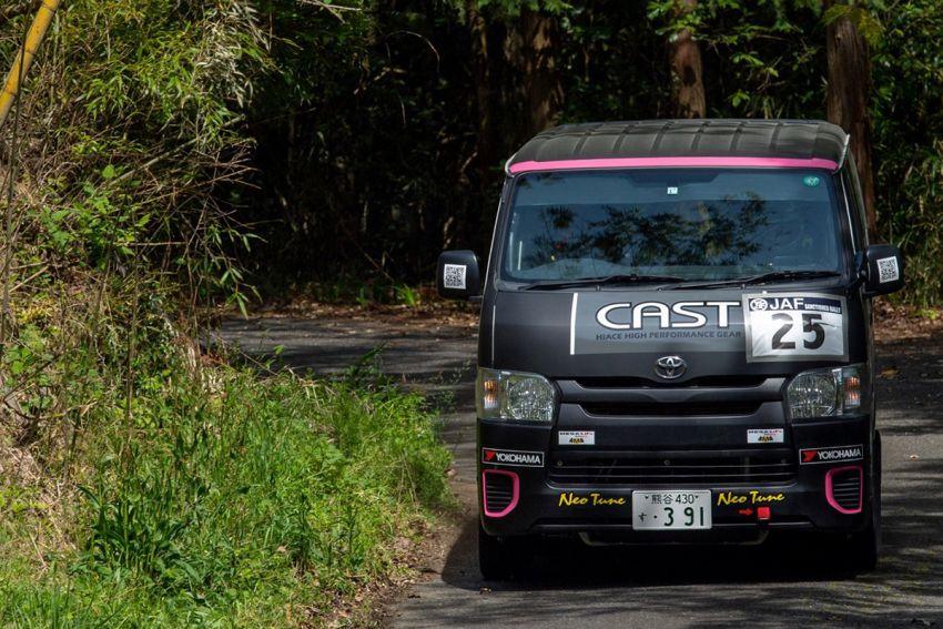 Toyota Hiace H200 Cast Racing – van rali sebenar bertanding dalam Kejuaraan Rali Seluruh Jepun! Image #1333380