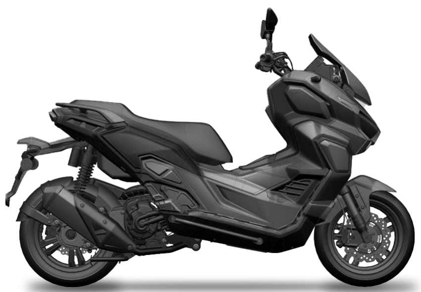 2022 WMoto Xtreme 250 adv-scooter in Malaysia soon Image #1327001