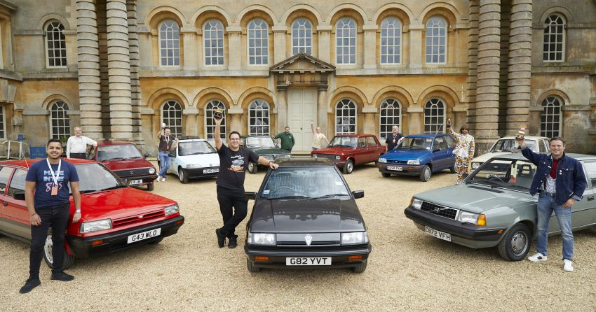 1989 Proton Saga comes out top at Hagerty UK's Festival of the Unexceptional, becomes best classic Image #1325454