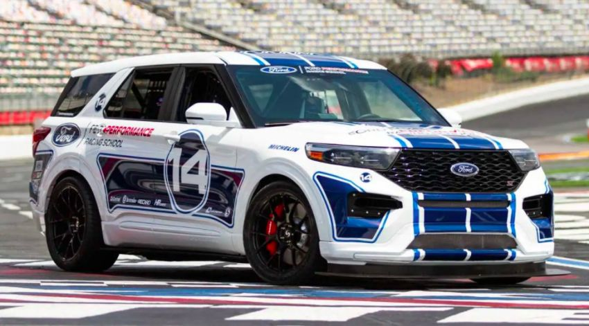 Ford Explorer ST to showcase Ford Performance Racing School at Woodward Dream Cruise 2021 Image #1333002