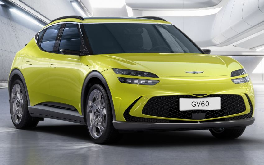 Genesis GV60 revealed – SUV is first dedicated EV Image #1332539