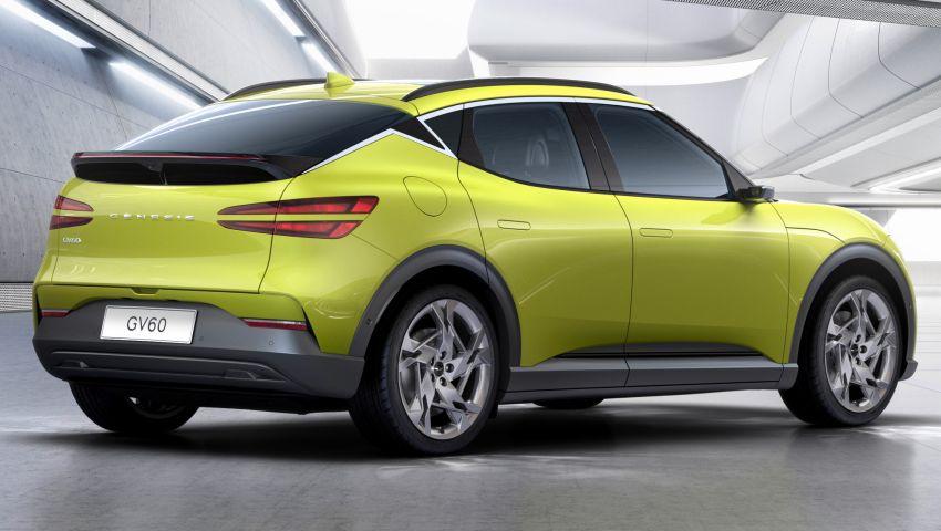 Genesis GV60 revealed – SUV is first dedicated EV Image #1332540