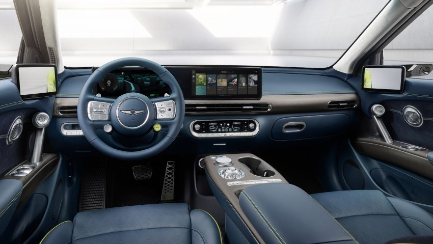 Genesis GV60 revealed – SUV is first dedicated EV Image #1332542