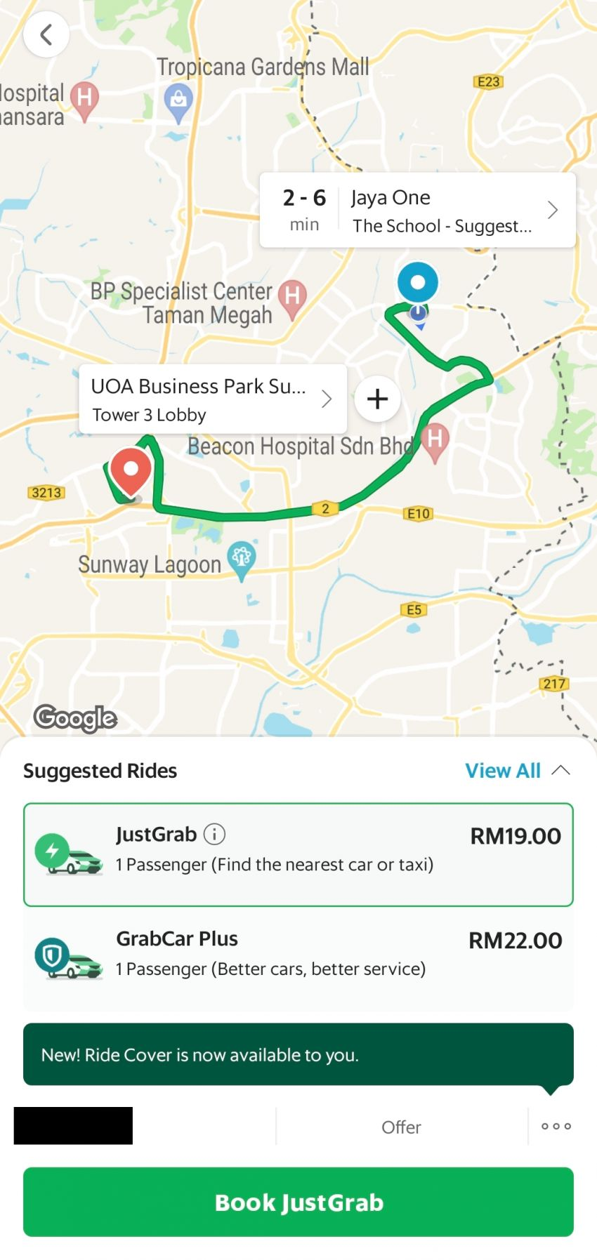 AirAsia Ride vs Grab first impressions in Malaysia – which ride hailing service is cheaper and faster? Image #1337291