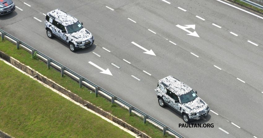 New L663 Land Rover Defender spotted in Malaysia Image #1332331