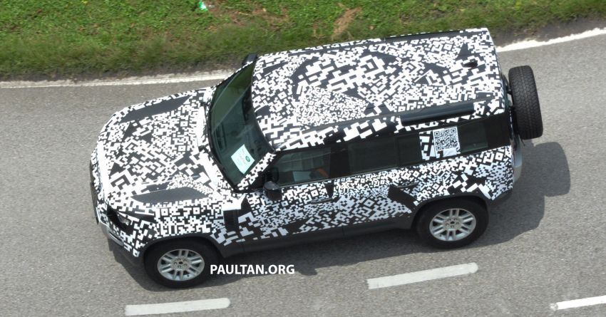 New L663 Land Rover Defender spotted in Malaysia Image #1332333