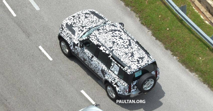New L663 Land Rover Defender spotted in Malaysia Image #1332334
