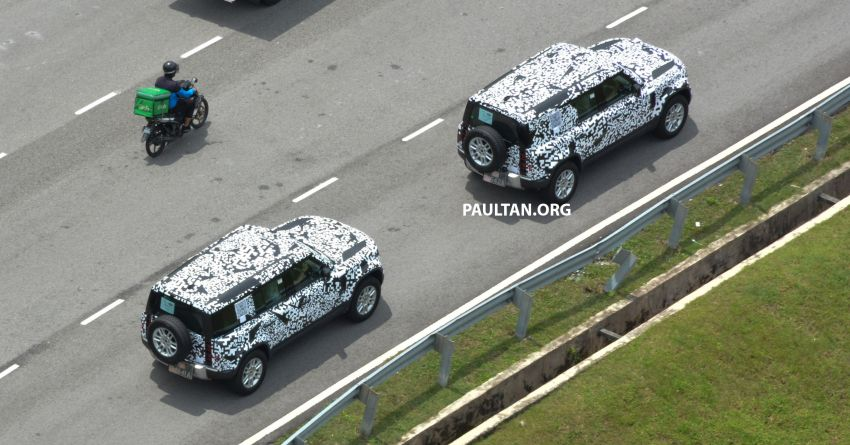 New L663 Land Rover Defender spotted in Malaysia Image #1332335