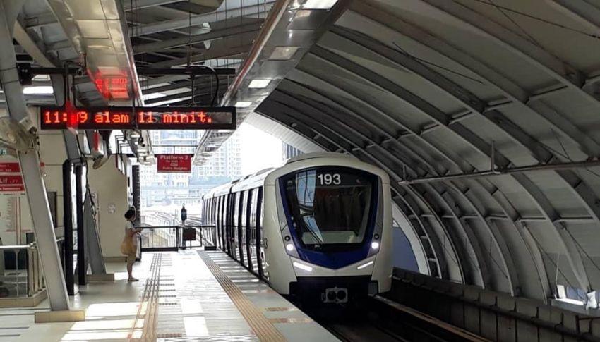 Seorang penumpang yang guna LRT Laluan KJ, bas pengantara T201 pada 5 Ogos dikesan positif Covid-19 Image #1328372