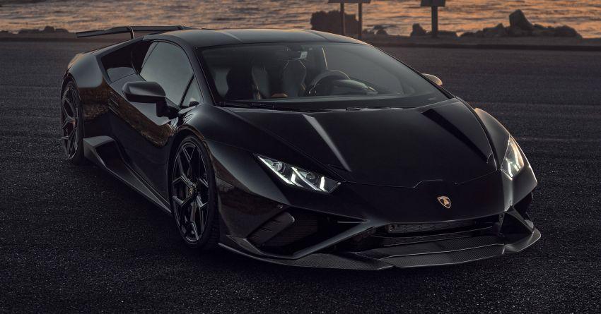 Lamborghini Huracan Evo RWD gets tuned by Novitec Image #1328387