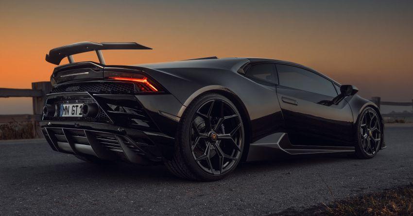 Lamborghini Huracan Evo RWD gets tuned by Novitec Image #1328391