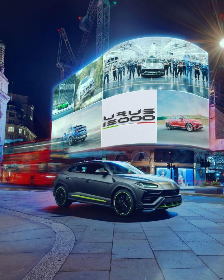 Lamborghini Urus – 15,000th unit en route to UK owner Image #1332141