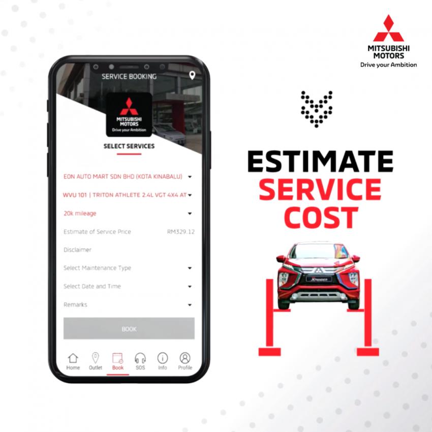 Mitsubishi Connect MY dikemaskini, ada tambahan ciri Image #1328353