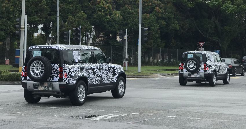 New L663 Land Rover Defender spotted in Malaysia Image #1332436