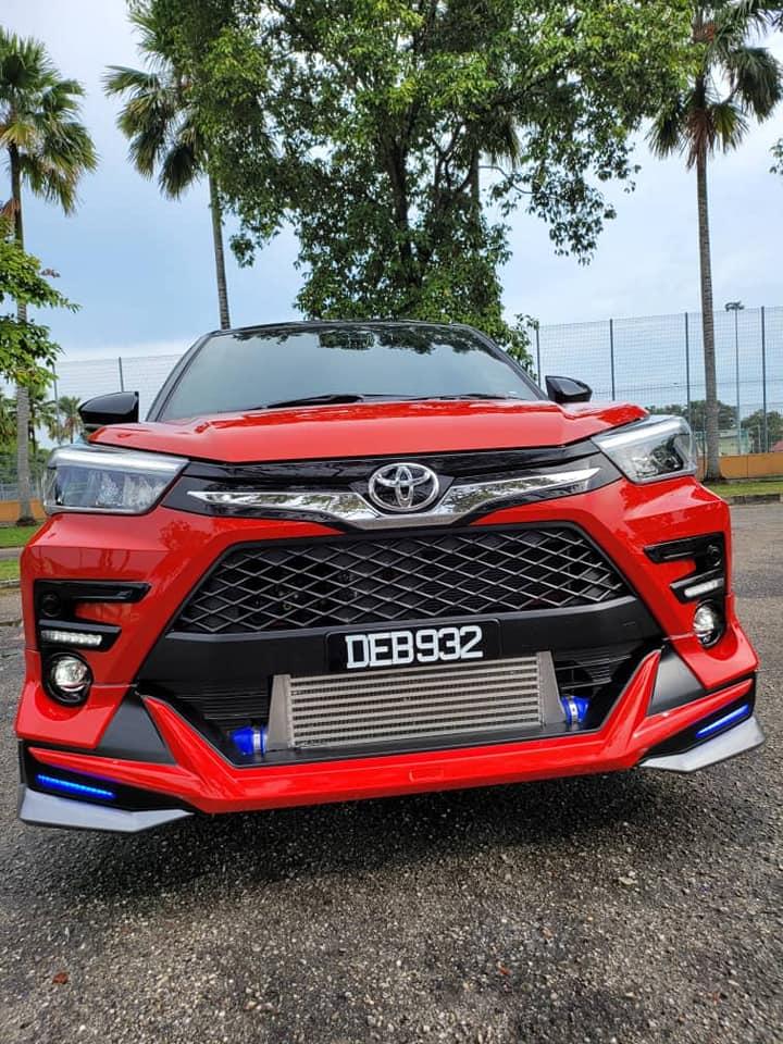 Perodua Ativa sumpahan Toyota Raize Modellista! Image #1332276