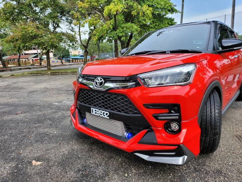 Perodua Ativa sumpahan Toyota Raize Modellista! Image #1332267