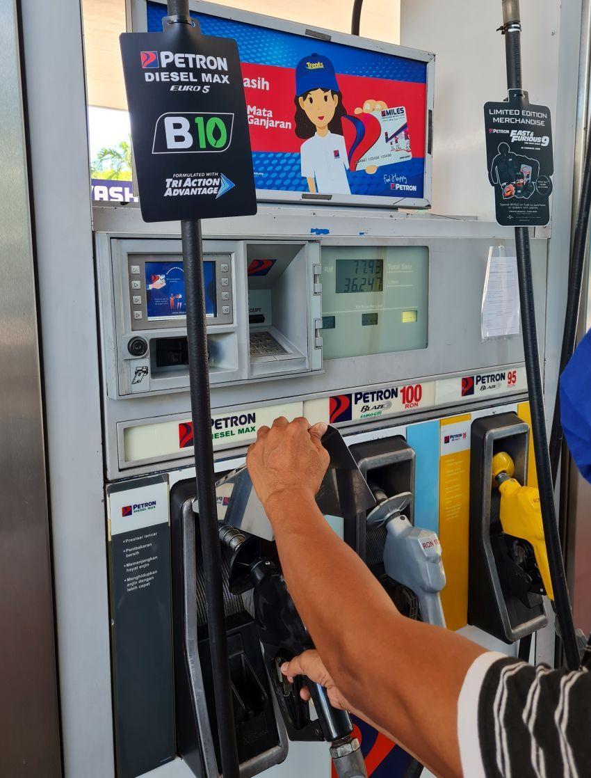 Petron Diesel Max Euro 5 formulasi baru diperkenalkan Image #1333387