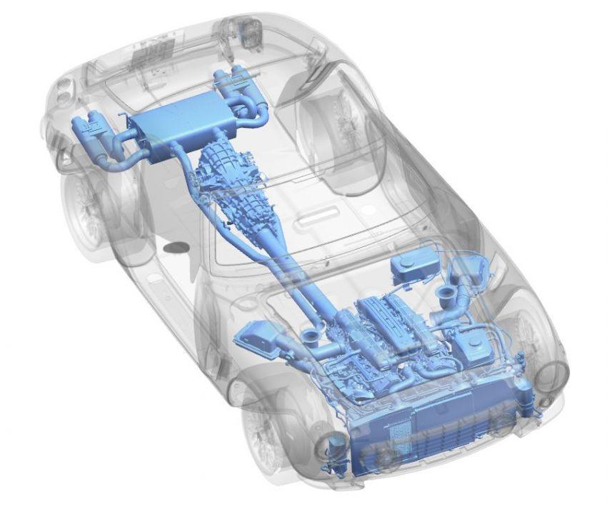 RML Short Wheelbase – Ferrari 5.5L V12 mill detailed Image #1333117