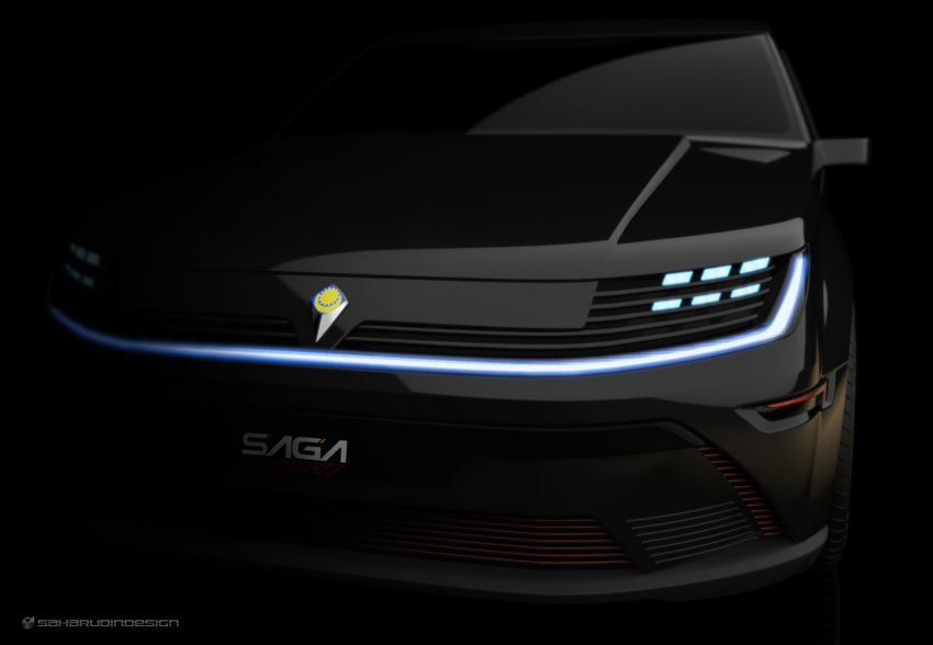 Proton Saga Knight Concept untuk Hari Merdeka 2021! Image #1334050