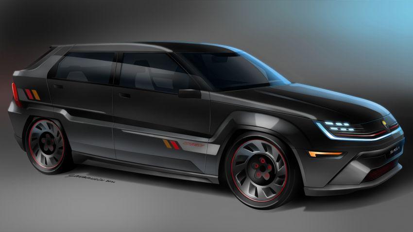 Proton Saga Knight Concept untuk Hari Merdeka 2021! Image #1334053