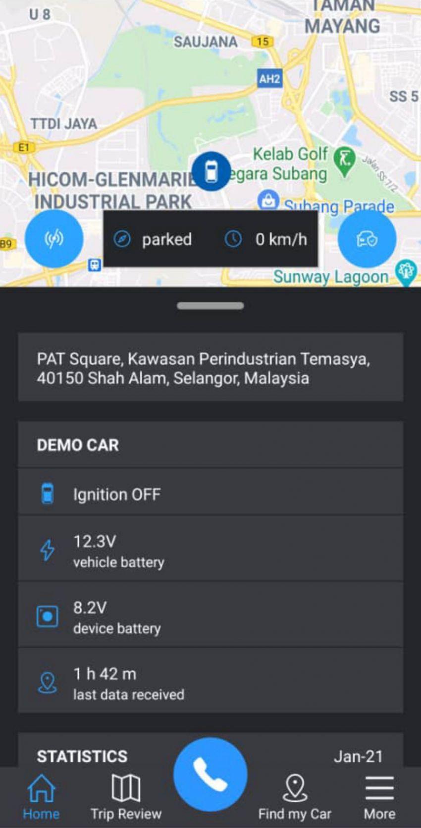 Sistem telematik Subaru Connex  dilancarkan untuk XV dan Forester di Malaysia – RM1,900; boleh retrofit Image #1337154