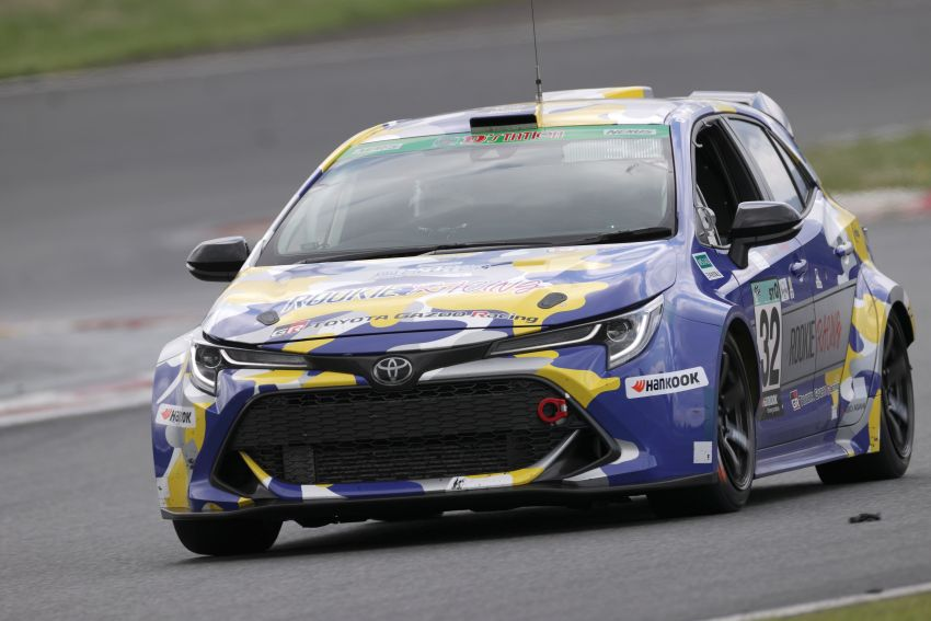 Toyota Corolla powered by hydrogen completes five-hour Super Taikyu endurance race in Autopolis, Japan Image #1326195