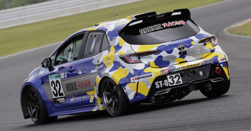 Toyota Corolla powered by hydrogen completes five-hour Super Taikyu endurance race in Autopolis, Japan Image #1326197