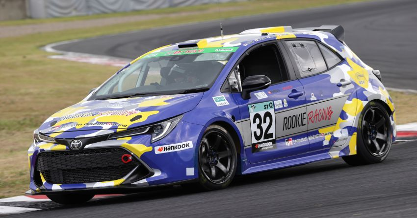 Toyota Corolla powered by hydrogen completes five-hour Super Taikyu endurance race in Autopolis, Japan Image #1326198