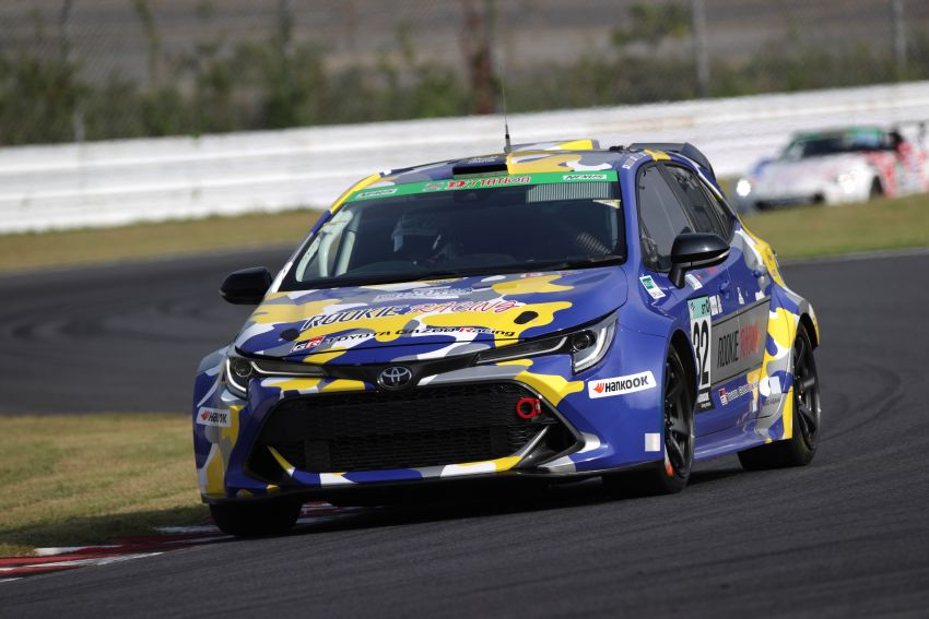 Toyota Corolla powered by hydrogen completes five-hour Super Taikyu endurance race in Autopolis, Japan Image #1326199
