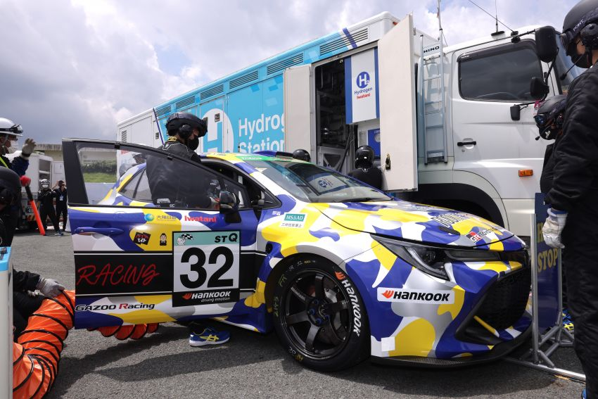 Toyota Corolla powered by hydrogen completes five-hour Super Taikyu endurance race in Autopolis, Japan Image #1326200