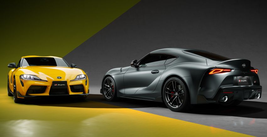 Toyota GR Supra 35th Anniversary Edition revealed for Japan – two trim levels, 35 units each; lottery system Image #1328281