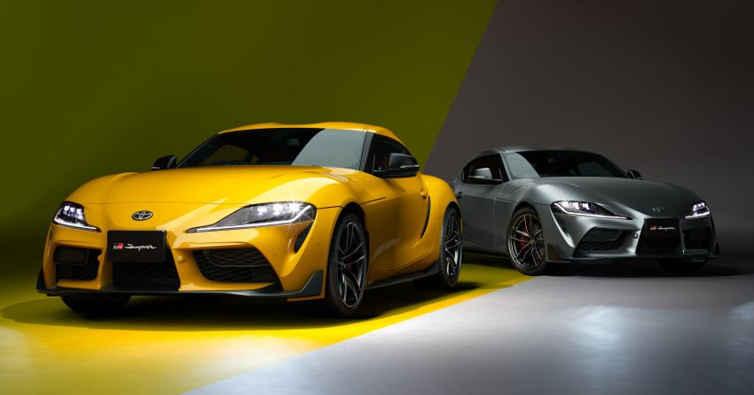 Toyota GR Supra 35th Anniversary Edition revealed for Japan – two trim levels, 35 units each; lottery system Image #1328282